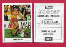 Motherwell Chris McCart 396